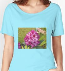 Beautiful Pink Rhodo Blossom Women's Relaxed Fit T-Shirt