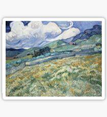Vincent Van Gogh landscapes from Saint-Remy Sticker