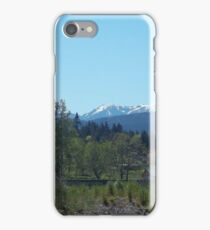 Olympic Moutains, Sequim, WA iPhone Case/Skin