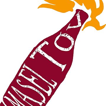 molotov cocktail masel tov by TundCDesign