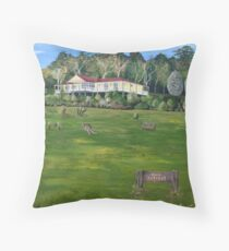 Roos Retreat Throw Pillow
