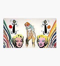 Louis, Miro, Warhol, Toulouse-Lautrec Photographic Print