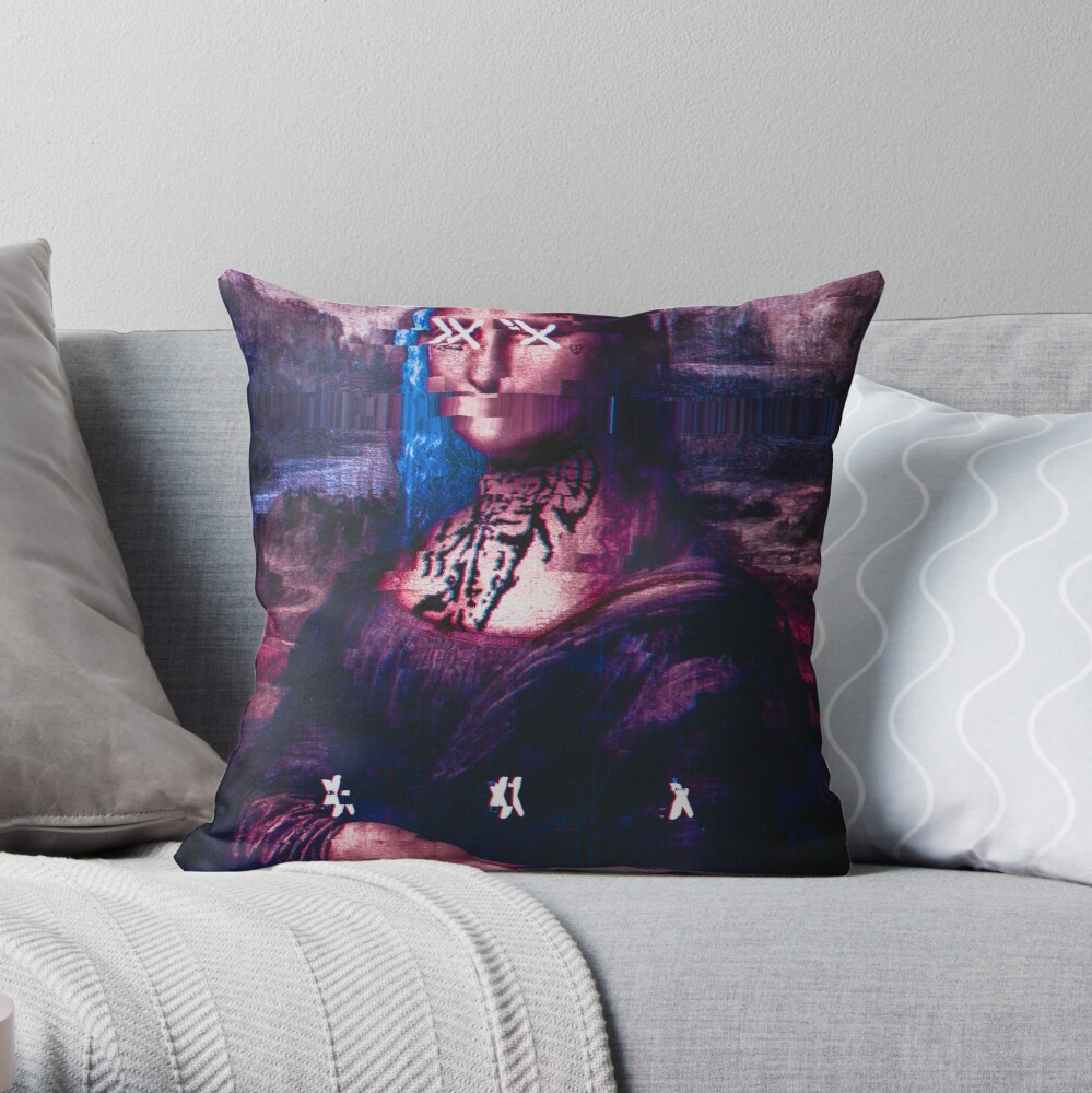 X y Mona Lisa Cojín