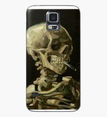 Funda/vinilo para Samsung Galaxy Vincent Van Gogh esqueleto humeante
