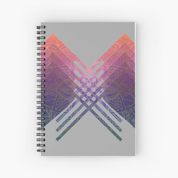Color Guard Sacred Geometry Spiral Notebook