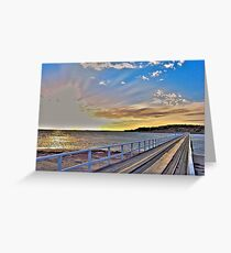Granite Causeway +HDR Greeting Card
