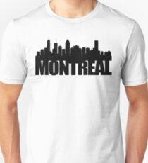 Montreal Skyline - black T-Shirt