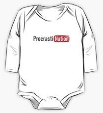 Procrastination One Piece - Long Sleeve