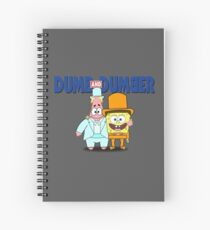 Dumb and Dumber Spiral Notebook