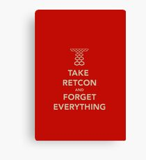 Take Retcon Canvas Print