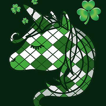 Unicorn St Patrick's Day  by edgyshop