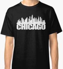 Chicago Skyline - white Classic T-Shirt
