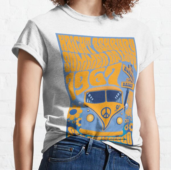 Haight Ashbury Summer Of Love Classic T-Shirt