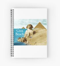 Giza Beach Spiral Notebook