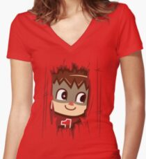 Heeeeere's.... the Villager Women's Fitted V-Neck T-Shirt