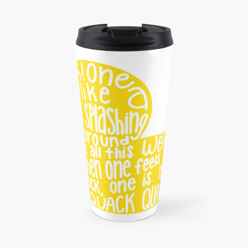 Mulaney duck Travel Mug