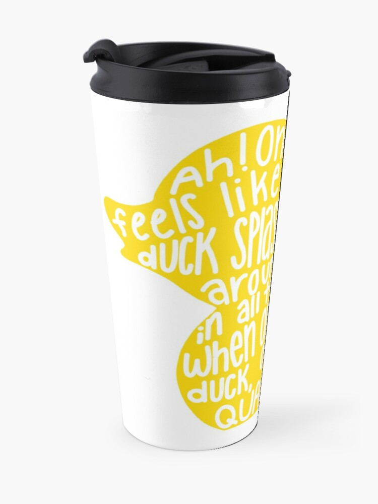 Alternate view of Mulaney duck Travel Mug