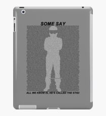 The Stig iPad Case/Skin