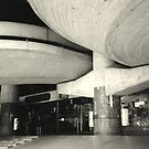 a heavy concrete ceiling by fabio piretti