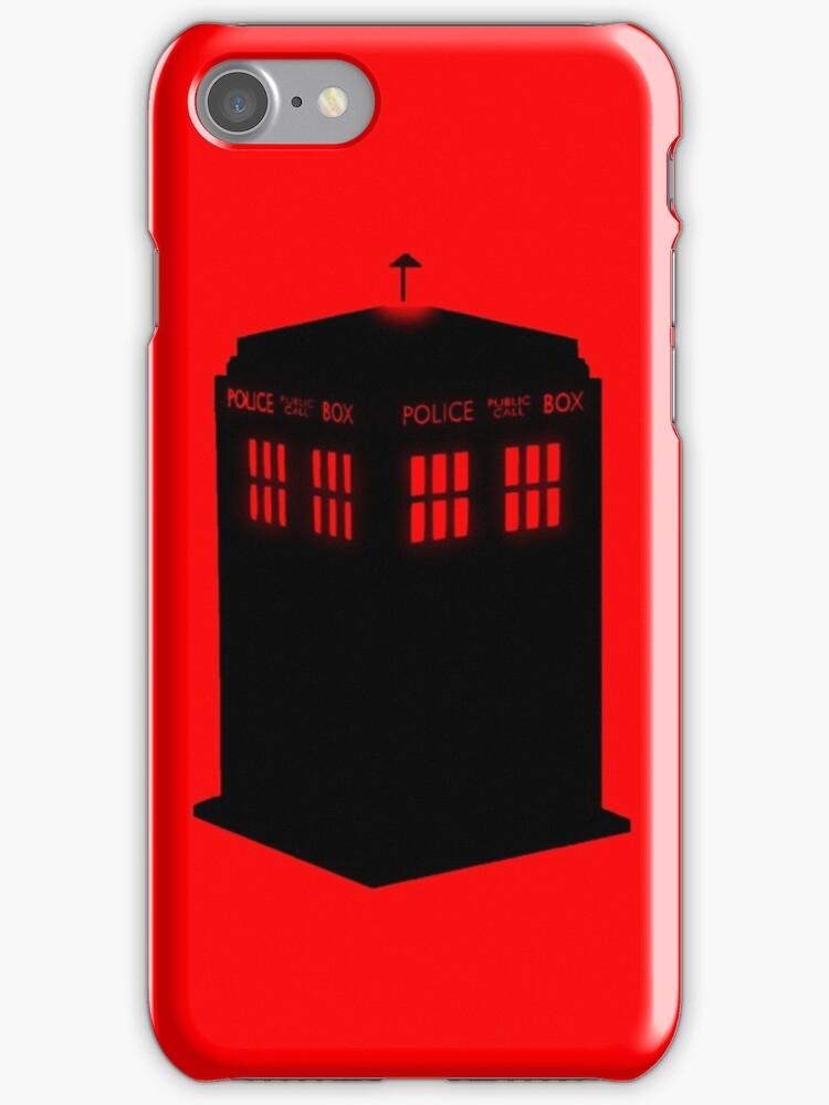 Evil TARDIS by ofthebaltic