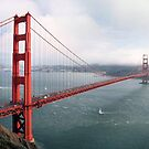 San Francisco Golden Gate Bridge  by nkorompilas