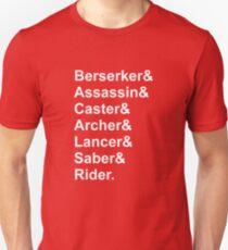 Fate Servants T-Shirt