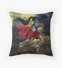 Hope (with Isaia) Throw Pillow