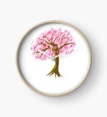 cherry tree Clock