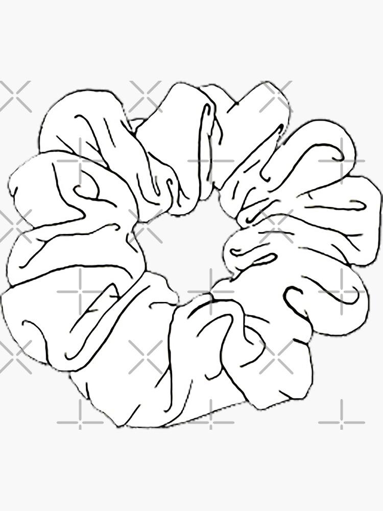 Scrunchie blanco de ncorreia117