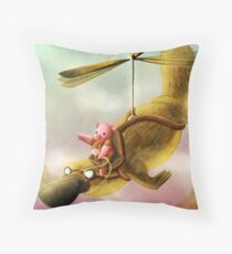 Pfft Who Says I Can't Fly? Throw Pillow