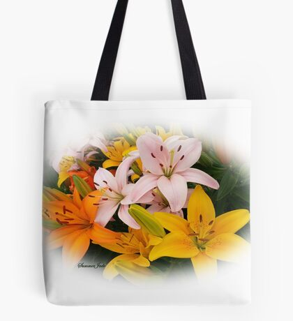 Spring Lilies ~ Ready for Planting Tote Bag