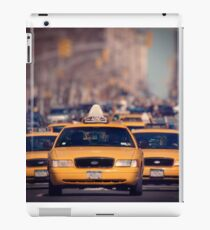 5th Avenue Cabs iPad Case/Skin