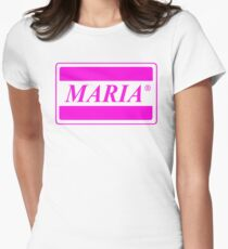 maria Womens Fitted T-Shirt