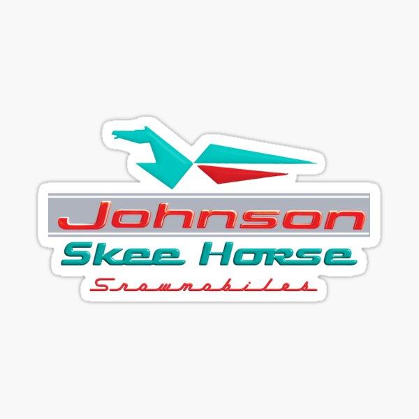 Johnson Skee Horse Vintage Snomobiles by OMC Sticker