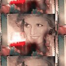 Diana, Princess of Wales: Tribute [Acrylic / Mixed Media] by #PoptART products from Poptart.me