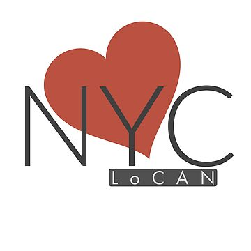 Heart NYC by Locan