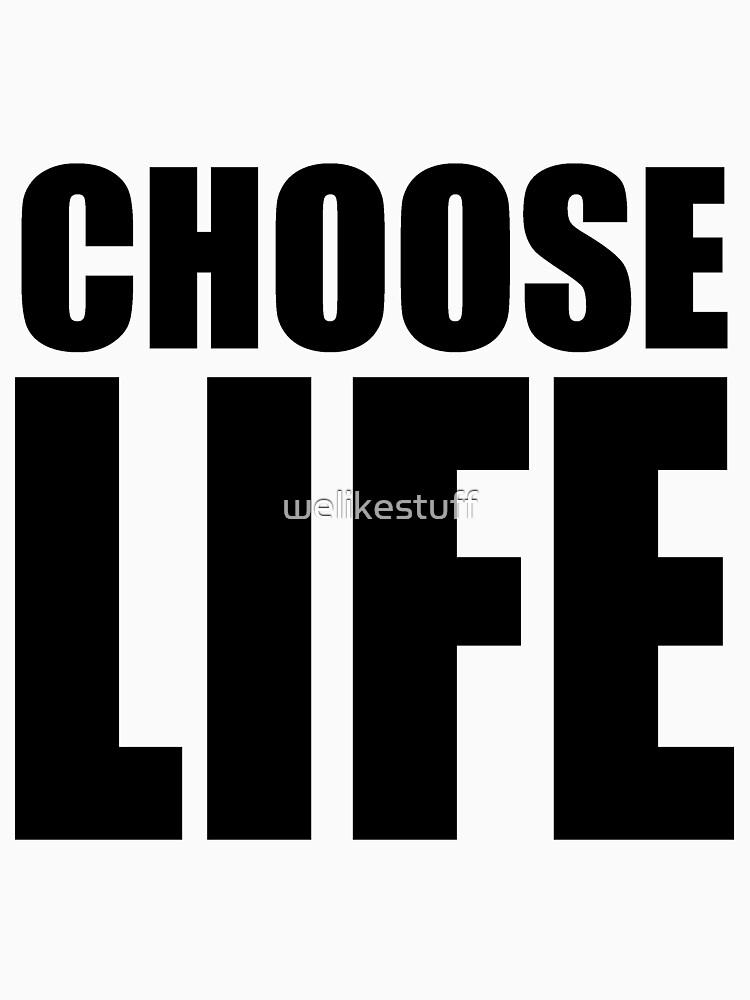 TShirtGifter presents: CHOOSE LIFE - WHAM! | Unisex T-Shirt