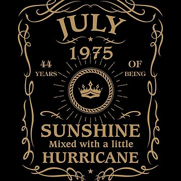 July 1975 Sunshine Mixed With A Little Hurricane by lavatarnt