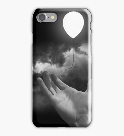 Black & White Collection -- Serenity iPhone Case/Skin