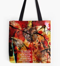 Nobody Would Ever See Us Any More Tote Bag