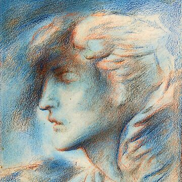 "Simeon Solomon ""Dawn (Head of Hypnos)"" by ALD1"