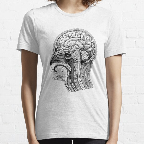Anatomical Brain Drawing Essential T-Shirt