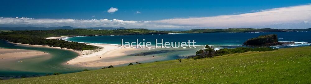 Minnamurra River meets Mistix Beach by Jackie Hewett