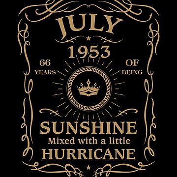 July 1953 Sunshine Mixed With A Little Hurricane by lavatarnt