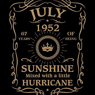July 1952 Sunshine Mixed With A Little Hurricane by lavatarnt