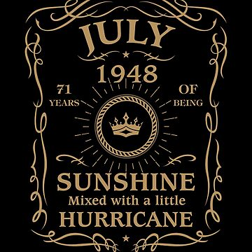 July 1948 Sunshine Mixed With A Little Hurricane by lavatarnt