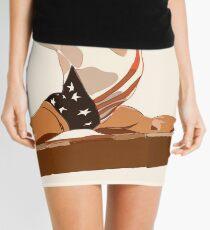 American Gymnast Mary Lou Retton Painting Mini Skirt