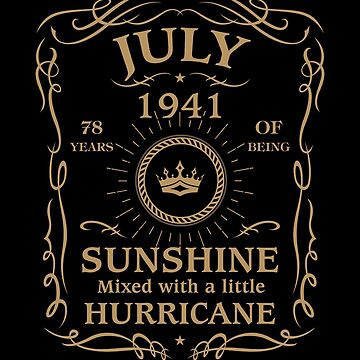 July 1941 Sunshine Mixed With A Little Hurricane by lavatarnt