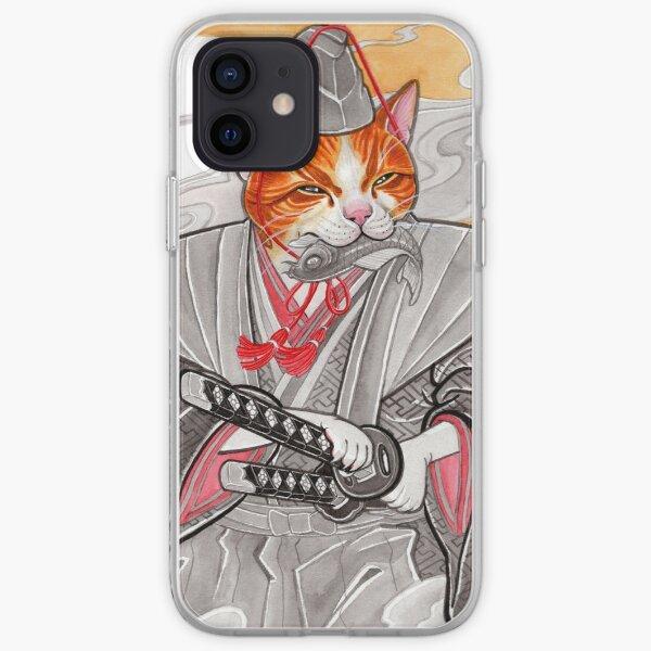 Samurai Cat iPhone Soft Case
