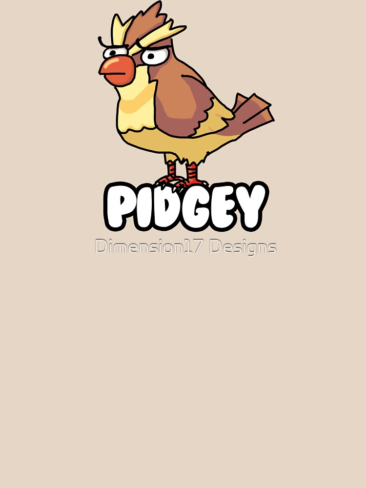 PIDGEY IS DISPLEASED WITH YOU  by CarryOnWayward